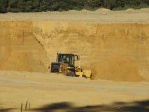 Excavator Loading Sand royalty free stock image