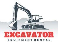 Free Excavator Logo Design. Royalty Free Stock Photos - 84288308