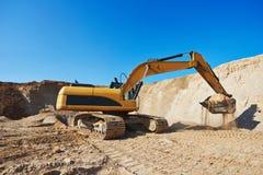 Excavator machine work Stock Photography