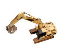 Excavator Machines Royalty Free Stock Images