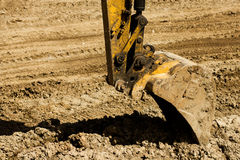 Excavator machines Royalty Free Stock Photo