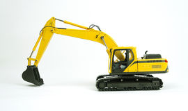 Excavator model 1 Royalty Free Stock Image