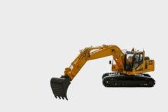 Excavator  model Royalty Free Stock Photos