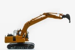 Excavator  model Stock Photo