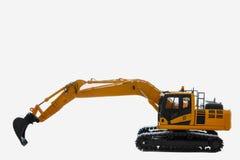 Excavator  model Royalty Free Stock Photo