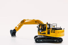 Excavator  model Royalty Free Stock Photography