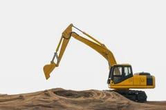 Excavator model Stock Photos