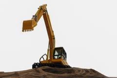 Excavator model Royalty Free Stock Image