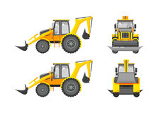 Excavator number one Royalty Free Stock Images