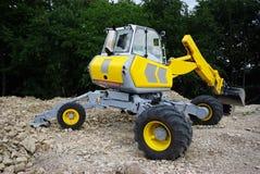 Excavator - Ready to work Royalty Free Stock Photos