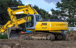 The excavator Stock Image