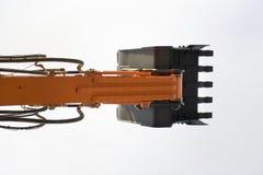 Excavator's shovel Stock Image