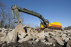 Excavator or shovel Stock Photo
