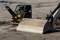 Excavator shovel Stock Photos