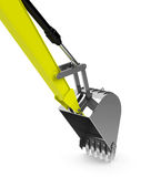 The excavator shovel Royalty Free Stock Photos