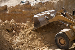 Excavator shovel Royalty Free Stock Photography