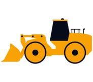 Excavator shown Stock Image