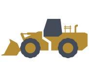 Excavator shown Stock Photography