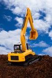 Excavator on Soil Royalty Free Stock Photos