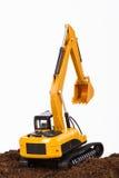 Excavator on Soil Royalty Free Stock Image