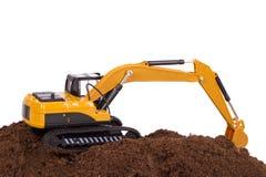 Excavator on Soil Stock Photography