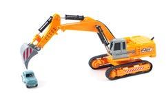 Excavator toy Stock Images