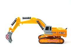 Excavator toy Stock Photo