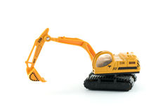 Excavator toy Royalty Free Stock Photo