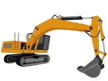 Excavator vector Royalty Free Stock Photo