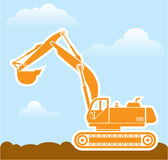 Excavator Vector Stock Photography