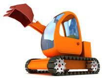 Excavator vehicle Stock Photo