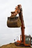 Excavator at Work - Stock Image Stock Photos