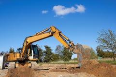 Excavator working Stock Photography
