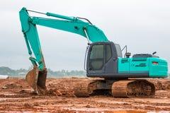 Excavator working Stock Photos