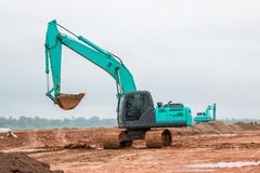 Excavator working Royalty Free Stock Photography