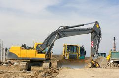 Excavators 1 Stock Images