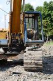 Excavators,. Car Royalty Free Stock Photography