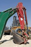 Excavators For Construction Stock Photos