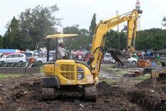 Excavators Royalty Free Stock Photos