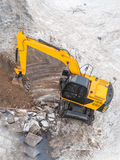 Excavators machine in construction site Royalty Free Stock Photos