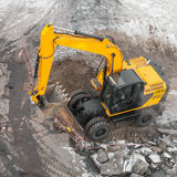 Excavators machine in construction site Stock Photography