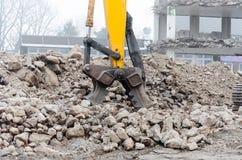 Excavators pliers Stock Photos
