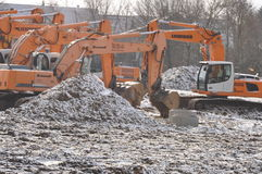 Excavators Stock Images