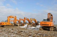 Excavators Stock Photography