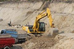 Excavators Royalty Free Stock Photography