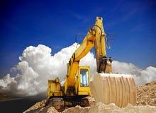 Excavatrice Images stock