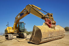 Excavatrice Photos libres de droits