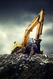 Excavatrice Photo libre de droits