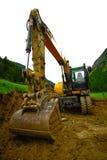 Excavatrice Photo stock