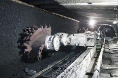 Excavatrice de mine de houille Photo libre de droits